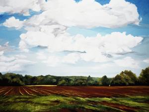 Landscape in S. Tennessee by Helen J^ Vaughn