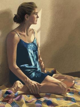 Seated Woman by Helen J^ Vaughn