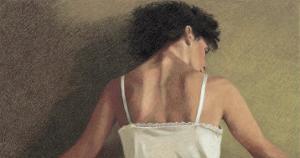 Woman's Back, c.1998 by Helen J^ Vaughn