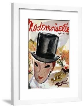 Mademoiselle Cover - September 1935 by Helen Jameson Hall