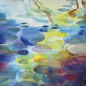 Ornamental Pond 3 by Helen Wells
