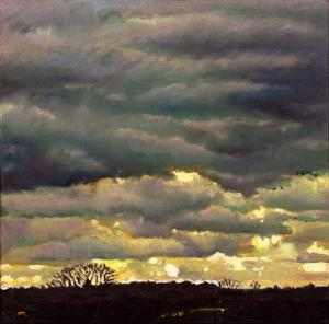 Cloud Burst, 2012 by Helen White