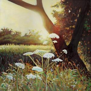 Golden Hedgerow I, 2014 by Helen White