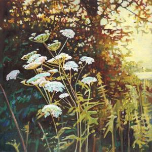 Golden hedgerow II, 2014, by Helen White