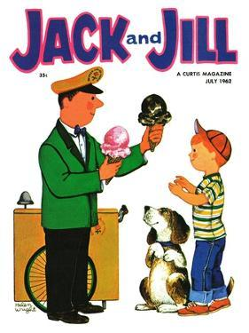 Summer Treat - Jack and Jill, July 1962 by Helen Wright