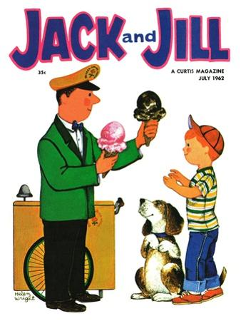 Summer Treat - Jack and Jill, July 1962