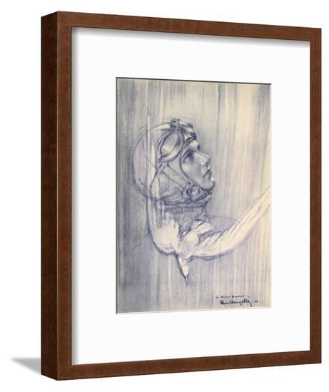 Helene Boucher, French Aviator--Framed Giclee Print