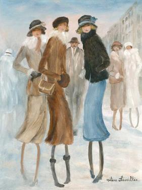 Belle rencontre d'hiver by Hélène Léveillée