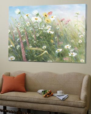 Fleurs des champs by Hélène Léveillée