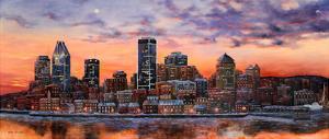 Montreal view by Hélène Léveillée