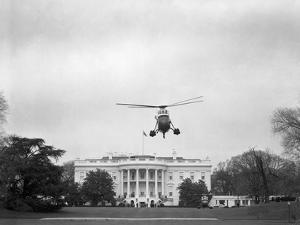 Helicopter Carrying the Kennedy Family