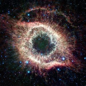 Helix Nebula, Infrared Spitzer Image