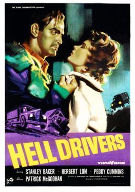 Hell Drivers, Stanley Baker, Peggy Cummins, 1957