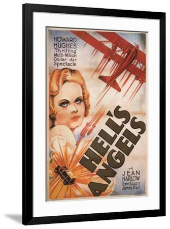 Hell's Angels--Framed Poster