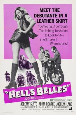 HELL'S BELLES, left: Jocelyn Lane, 1970