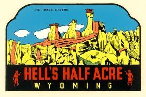 Hell's Half Acre Decal