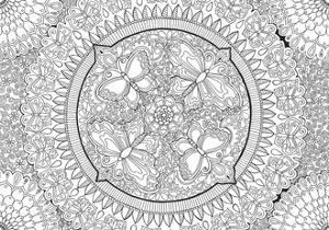Butterfly Party Mandala by Hello Angel