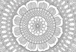 Flower Mandala by Hello Angel