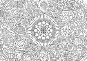 Paisley Mandala by Hello Angel