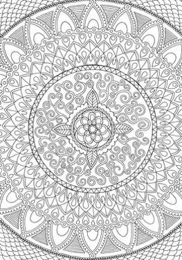 Petals Mandala by Hello Angel