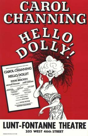 Hello Dolly - Broadway Poster