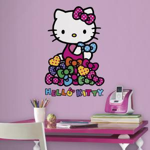Hello Kitty Bows Peel and Stick Wall Decals