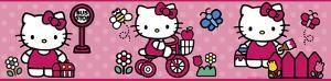 Hello Kitty - The World of Hello Kitty Peel & Stick Border Wall Decal