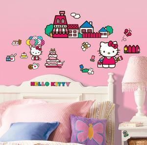 Hello Kitty - The World of Hello Kitty Peel & Stick Wall Decals