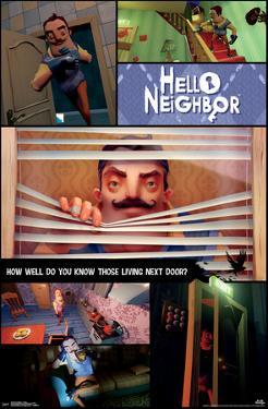 HELLO NEIGHBOR - COLLAGE