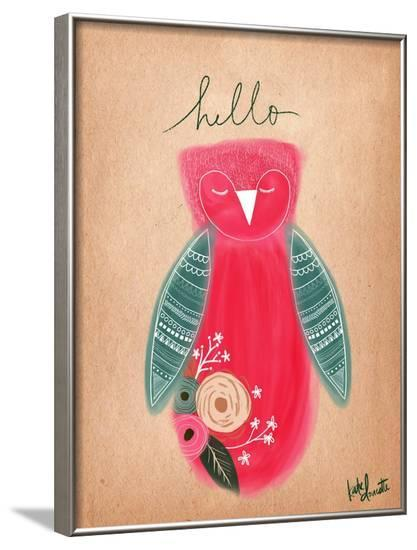 Hello Owl-Katie Doucette-Framed Art Print
