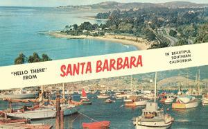Hello there from Santa Barbara. California