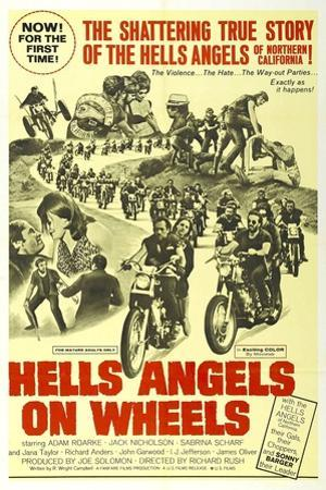 HELLS ANGELS ON WHEELS, 1967