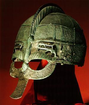 Helmet from a Vendel Boat Grave