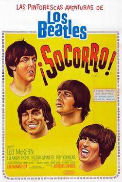 Help Argentinean Poster Art The Beatles 1965