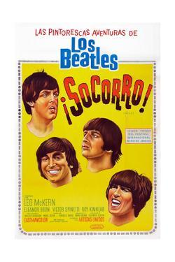 Help!, Argentinean Poster Art, The Beatles, 1965