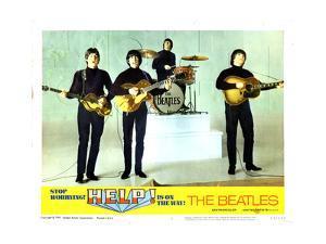 Help, from Left:Paul Mccartney, George Harrison, Ringo Starr, John Lennon, 1965