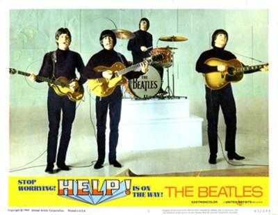 Help, from Left:Paul Mccartney, George Harrison, Ringo Starr, John Lennon, 1965