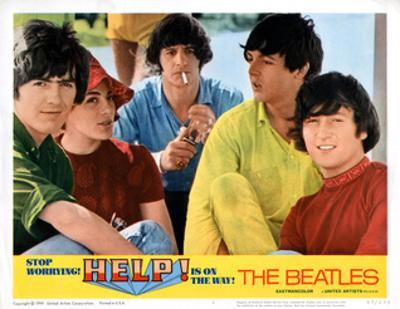 Help, George Harrison, Ringo Starr, Paul Mccartney, John Lennon, 1965