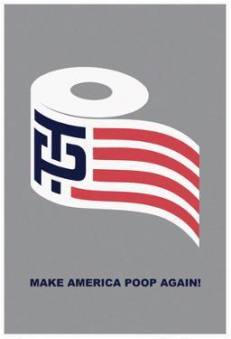 Help Make America Poop Again (Grey)