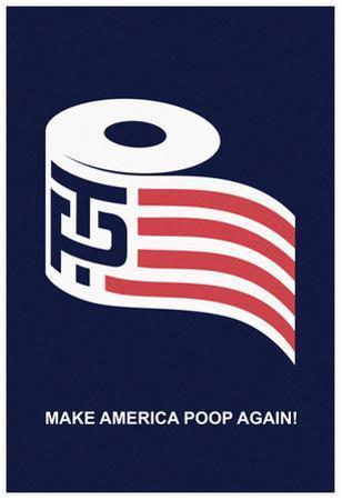 Help Make America Poop Again (Navy)
