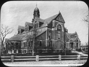 Hemenway Gymnasium, Harvard University, Massachusetts, USA, Late 19th or Early 20th Century