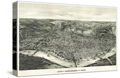 Panoramic View of the City of Cincinnati, Ohio, 1900