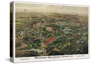 Tennessee Centennial Exposition, Nashville, 1897 by Henderson Litho Co.