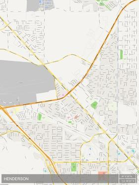 Henderson, United States of America Map