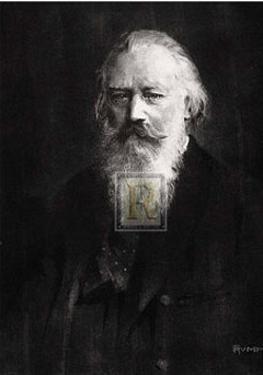 Brahms by Hendrich Rumpf