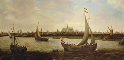 View of Haarlem from the North