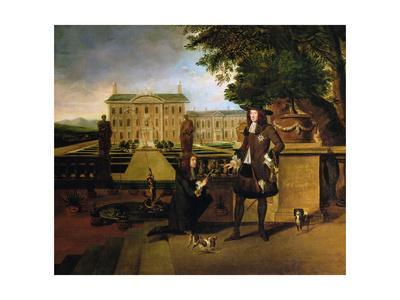 John Rose, the King's Gardener, presenting Charles II with a pineapple, 17th century