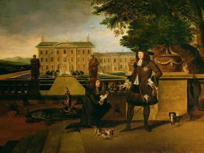 John Rose the King's Gardener, Presenting Charles II with a Pineapple