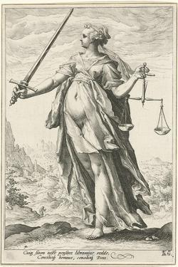 Fairness (Justic) by Hendrick Goltzius