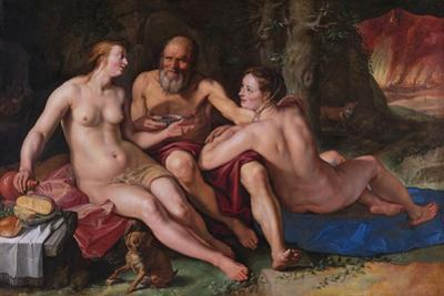 Lot and His Daughters, 1616